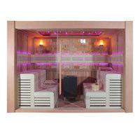 EOSPA Sauna E1400D rote Zeder 300x200 12kW EOS Cubo