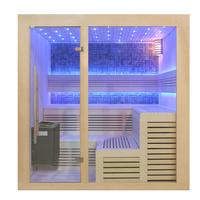 EOSPA Sauna B1213B Pappelholz 200x200 9kW EOS BiOThermat
