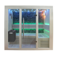 EOSPA Sauna B1216A Pappelholz 200x120 9kW EOS BiOThermat