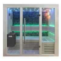 EOSPA Sauna B1216B Pappelholz 180x120 9kW EOS BiOThermat