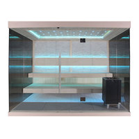 EOSPA Sauna E1240E Pappelholz 200x180 9kW EOS Cubo