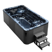 EOSPA SwimSPA Innovation 4.5 Pearl Shadow 450x230 grau
