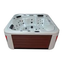 EOSPA Aussenwhirlpool IN594 premium WhitePearlescent 215x215 braun