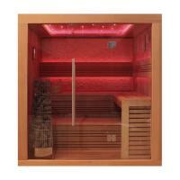EOSPA Sauna E1241B rote Zeder 200x170 9kW Kivi
