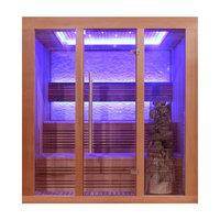 EOSPA Sauna E1244B rote Zeder 180x150 9kW Kivi