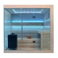 EOSPA Sauna B1246A Pappelholz 220x180 9kW EOS BiOMax