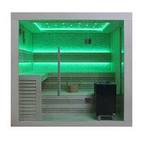 EOSPA Sauna B1247C Pappelholz 180x180 9kW EOS BiOMax