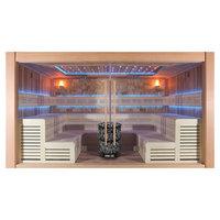 EOSPA Sauna B1400A rote Zeder 400x300 12kW Vitra