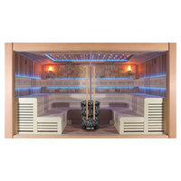 EOSPA Sauna B1400B rote Zeder 350x300 12kW Vitra