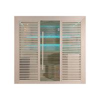 EOSPA Sauna B1402A Pappelholz 220x170 9kW EOS BiOThermat