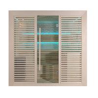 EOSPA Sauna B1402B Pappelholz 200x170 9kW EOS BiOThermat