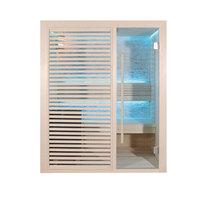 EOSPA Sauna B1410C Pappelholz 120x105 3kW EOS BiOMini
