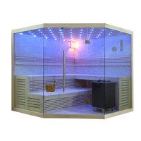 EOSPA Sauna B1101 XL Pappelholz 250x250 12kW EOS BiOMAX