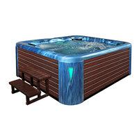 EOSPA Aussenwhirlpool IN590 premium OceanWave 250x228 braun