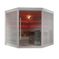 EOSPA Sauna E1403A Pappelholz 220x220 9kW Cilindro