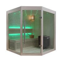 EOSPA Sauna B1219A Pappelholz 160x160 9kW EOS BiOThermat