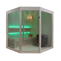 EOSPA Sauna B1219B Pappelholz 140x140 9kW EOS BiOThermat