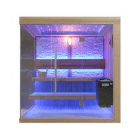 EOSPA Sauna B1245A rote Zeder 220x180 9kW EOS BiOThermat