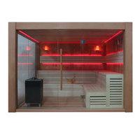 EOSPA Sauna B1416A rote Zeder 300x300 12kW EOS BiOCubo
