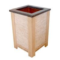 EOSPA Saunazubehör Ofenschutz für CUBO Öfen rote Zeder