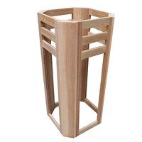 EOSPA Saunazubehör Ofenschutz für Harvia Cilindro rote Zeder