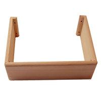 EOSPA Saunazubehör Ofenschutz für BiO Mini Öfen rote Zeder