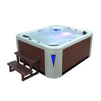 EOSPA Aussenwhirlpool IN591 premium WhitePearlscent 220x186 braun