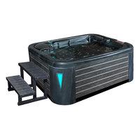 EOSPA Aussenwhirlpool IN595 premium CloudyBlack 200x150 grau