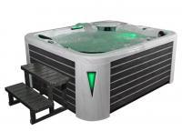 EOSPA Aussenwhirlpool IN591 premium extreme SilverMarble 220x186 grau