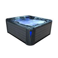 EOSPA Aussenwhirlpool IN590 premium extreme CloudyBlack 250x228 grau
