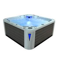 EOSPA Aussenwhirlpool IN598 premium extreme SilverMarble 235x235 grau