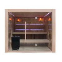 EOSPA Sauna B1502C rote Zeder 200x180 9kW EOS BiOCubo