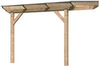 Karibu Douglasie Terrassenüberdachung Premium 1 Größe A  310x250 cm