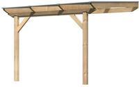 Karibu Terrassenüberdachung Douglasie Premium 3 Größe A 310 x 350cm