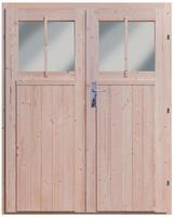 Doppelflügeltür Wandlitz 19 mm inkl. Türschloss und Rahmen