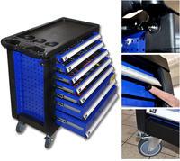 Deluxe Werkstattwagen blau WHAWE-ST-WA KOMPLETT-SET