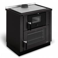 La Nordica Küchenherd Verona Nero-Antracite 8 kW