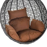 Deluxe Polyrattan Hängesessel-KORB Cielo