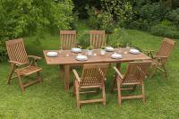 MX Gartenmöbel Set Comodoro 7 tlg. FSC ® Eukalyptus