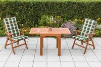 MX Gartenmöbel Set Maracaibo II 5 tlg. inkl. Auflagen FSC ® Eukalyptus
