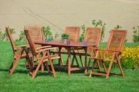 MX Gartenmöbel Set Cordoba 7 tlg. FSC ® Eukalyptus