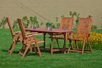 MX Gartenmöbel Set Cordoba 5 tlg. FSC ® Eukalyptus