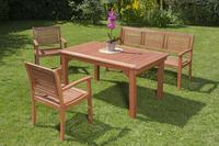 MX Gartenmöbel Set Cordoba I 4 tlg. FSC ® Eukalyptus
