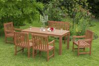 MX Gartenmöbel Set II Santos 6 tlg. FSC® Eukalyptusholz