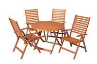 MX Gartenmöbel Set Bahia 5 tlg. FSC® Eukalyptusholz