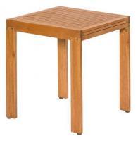 MX Gartentisch Balkon FSC ® Eukalyptusholz 65/ 130 x 70 x 74 cm