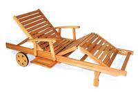 MX Gartenliege Rollie FSC® Eukalyptusholz