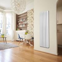 Deluxe Design Heizkörper Flare doppellagig weiss 1800 x 480 x 65