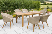 MX Gartenmöbel Arrone Set 13t lg. FSC ® Akazienholz