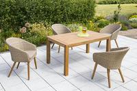 MX Gartenmöbel Arrone Set 9 tlg. FSC ® Akazienholz